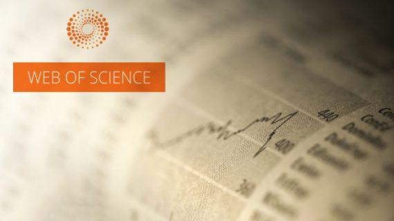 Статьи журнала «Экономика региона» размещены в авторитетной базе данных Web of Science
